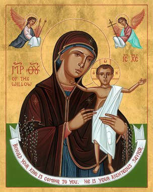 Icon - Our Lady of the Willow